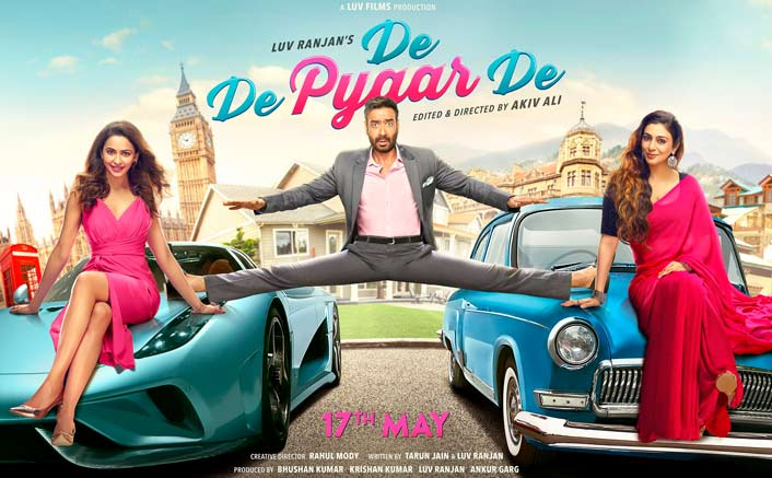De De Pyaar De's Poster On How's The Hype: BLOCKBUSTER Or Lacklustre?