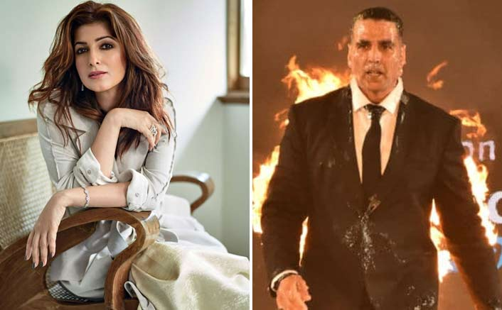 Wifey Twinkle Khanna's Reaction To Akshay Kumar's 'All Fired Up' Pictures Will Adorably Burst You Into Laughters!