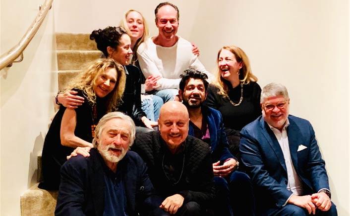 Anupam Kher turns 64, parties with De Niro