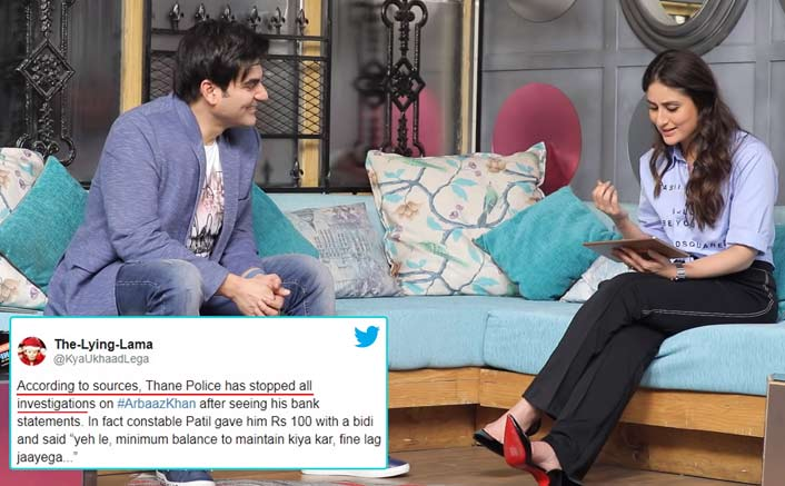 Twitterati Laughs About Arbaaz Khan's 'Empty Bank Account' Post IPL Scam & His Response To It Is HILARIOUS!