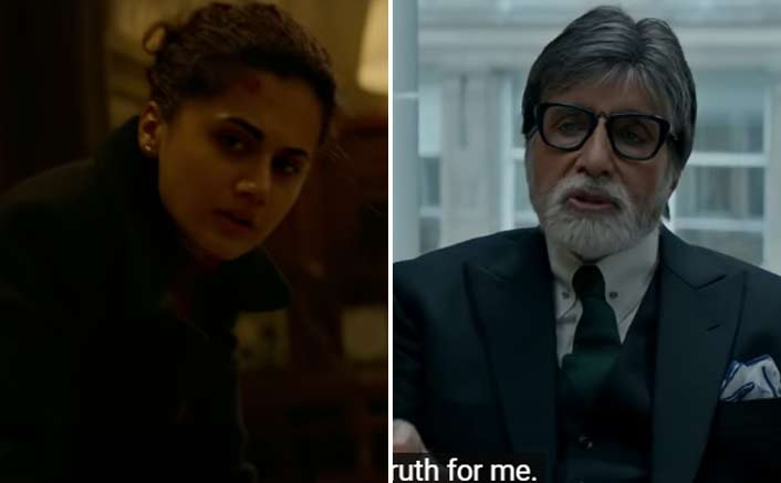 Box Office - Amitabh Bachchan and Taapsee Pannu's Badla opens much better than expected