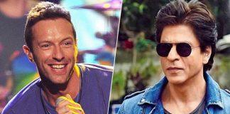 Chris Martin, Shah Rukh Khan