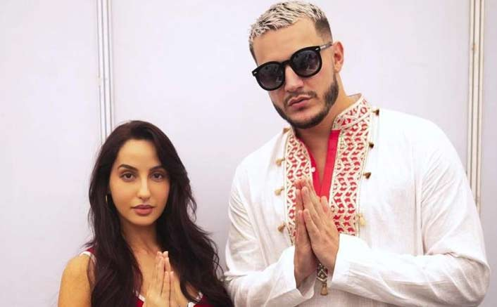 Collaboration on the cards for Nora Fatehi and DJ Snake?