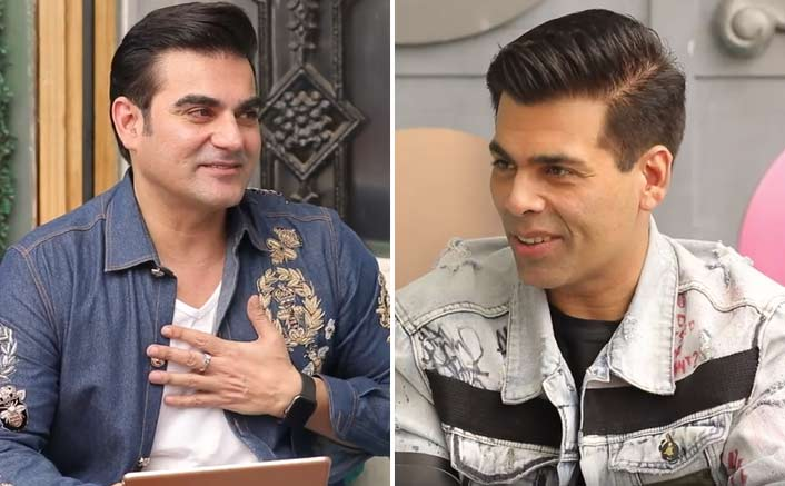 """Every morning I wake up to abuse, and it amuses me"""": Karan Johar is LIT in second episode of Quick Heal Pinch by Arbaaz Khan"""