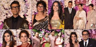 Film celebs galore at Akash, Shloka Ambani's wedding party