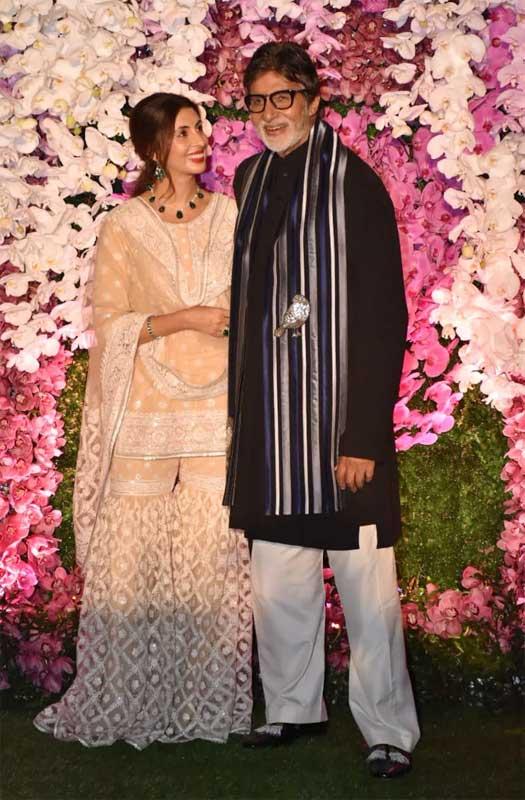Film celebs galore at Akash, Shloka Ambani's wedding party