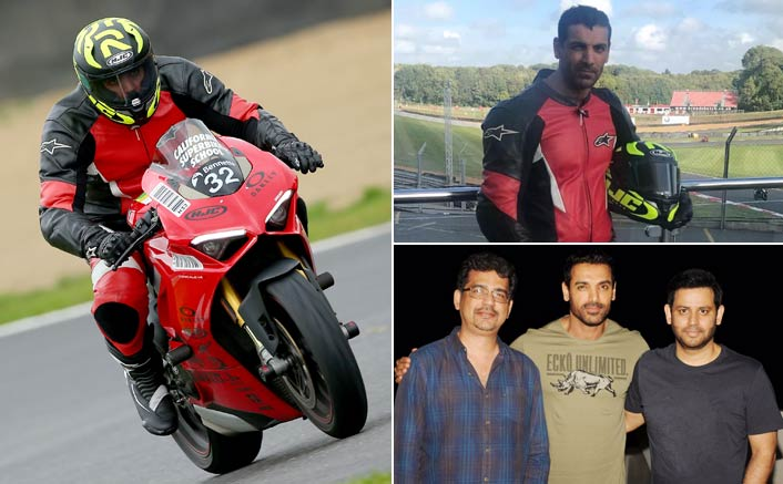 John Set to Race Ahead With His Love For Bikes On Film