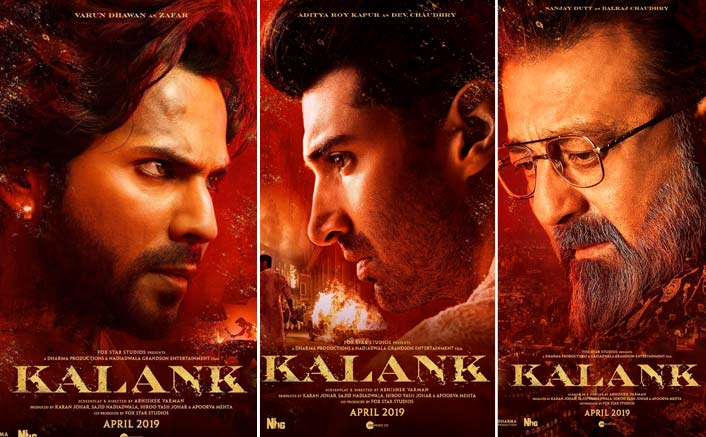 Kalank Posters: Varun Dhawan OR Aditya Roy Kapur OR Sanjay Dutt – Your Favourite Pick?