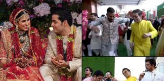 KJo, Hardik Pandya dance away at Akash, Shloka's wedding