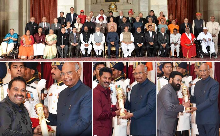 President gives away 55 Padma awards