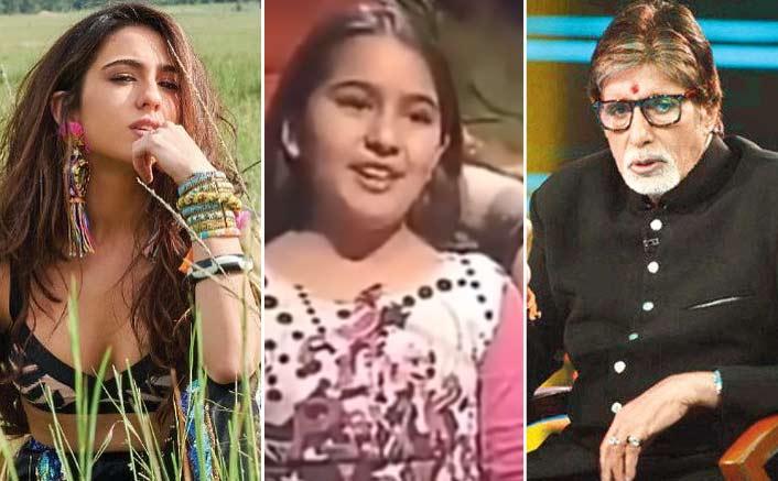 #ThrowbackThursday: Seen 12-Year-Old Sara Ali Khan's Viral 'Adaab' To Amitabh Bachchan Yet?