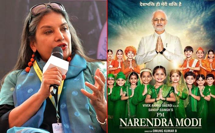 Shabana Azmi slams Modi biopic's makers