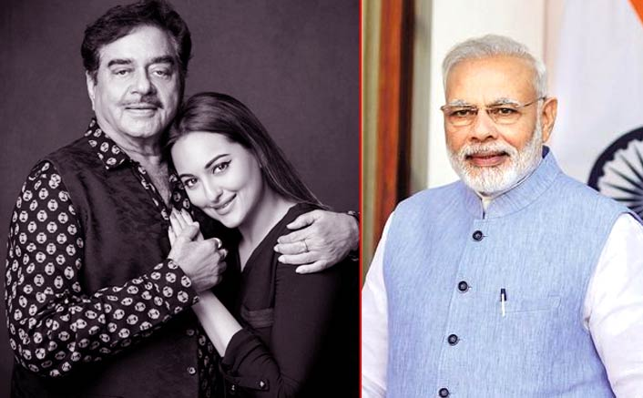 Sonakshi Sinha Bashes Narendra Modi Led BJP; Supports Father Shatrughan Sinha's