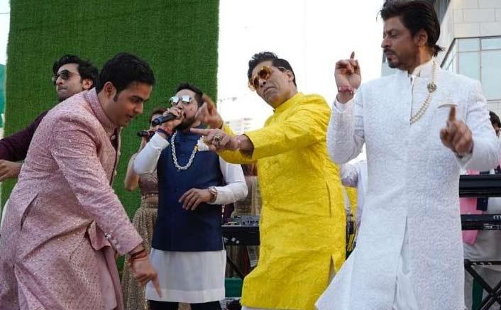 SRK, Ranbir, KJo dance away at Akash Ambani's wedding