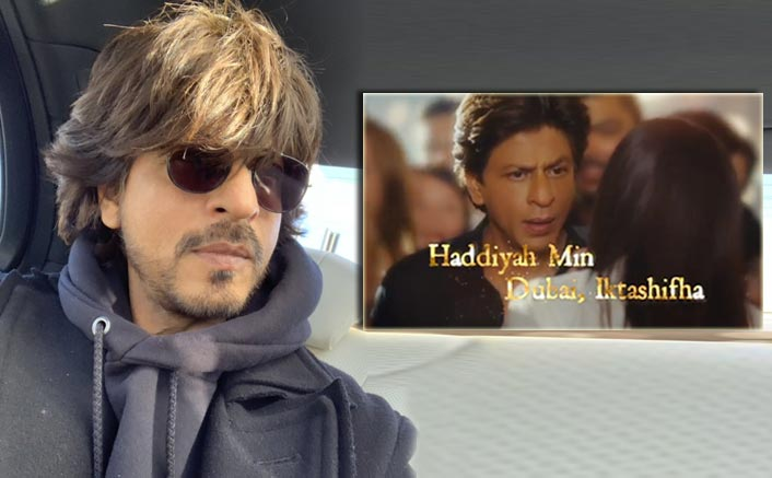 SRK's tryst with mysterious woman in Dubai