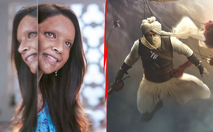 Tanhaji VS Chhapaak At The Box Office: Ajay Devgn Or Deepika Padukone - Who Will Win This Jan 2020 Blockbuster Battle?