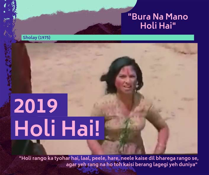 Throwback Thursday - Holi Special