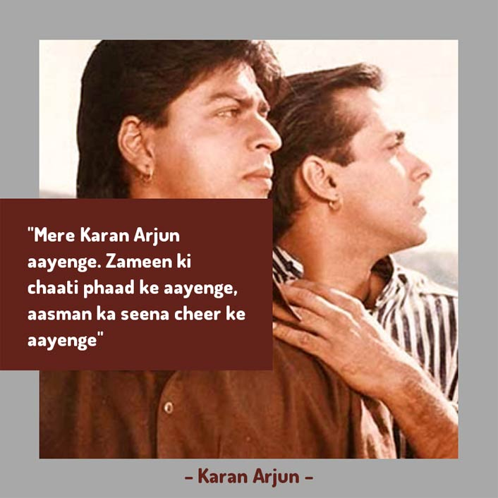 #ThrowbackThursday: This Dialogue Is On The Mind Of Every Salman Khan & Shah Rukh Khan Fan Right Now!
