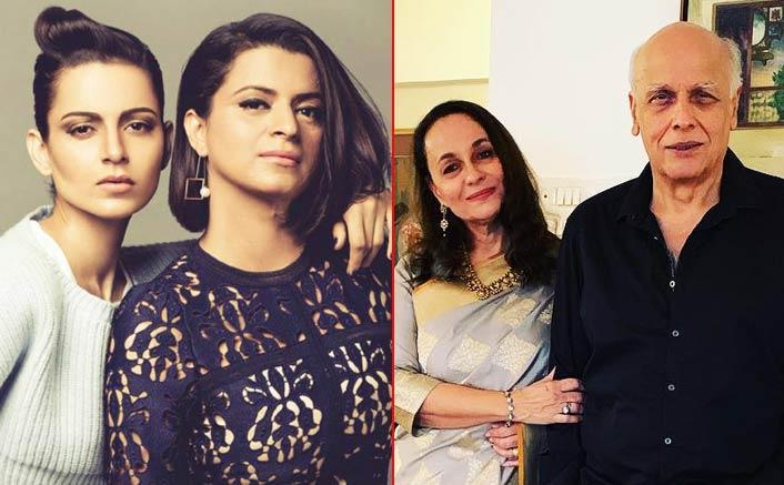 Kangana Ranaut's Sister Rangoli Says Mahesh Bhatt Threw Chappal Over Kangana, Soni Razdan Responds
