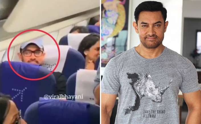 A Humble Perfectionist! Aamir Khan Travels In Economy Class & Its Video Is Storming The Internet!