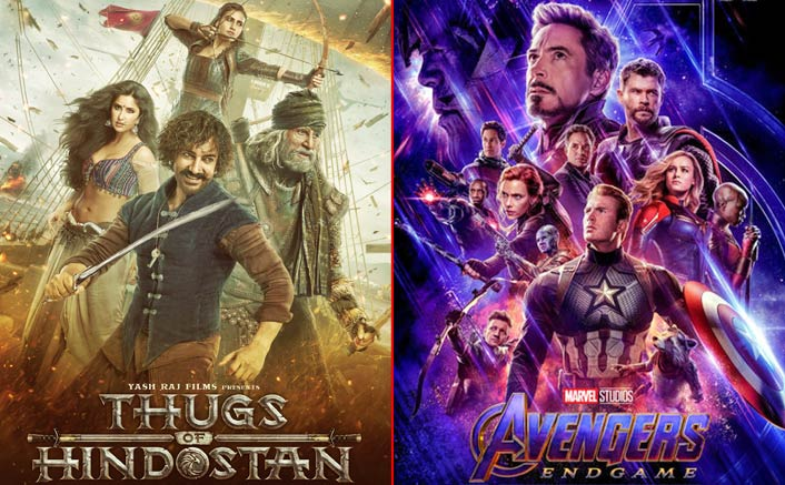 Aamir Khan's Thugs of Hindostan recorded the biggest Day 1 opening ever; Will Avengers endgame be able to break it?