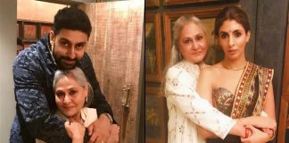 Abhishek, Shweta wish 'captain' Jaya on birthday