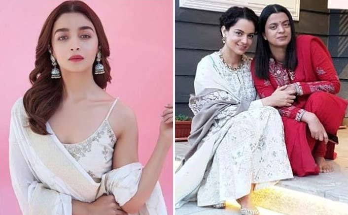 Alia Bhatt Responds To Kangana's Ranaut's Sister Rangoli's Comments On Her Family. Watch Video
