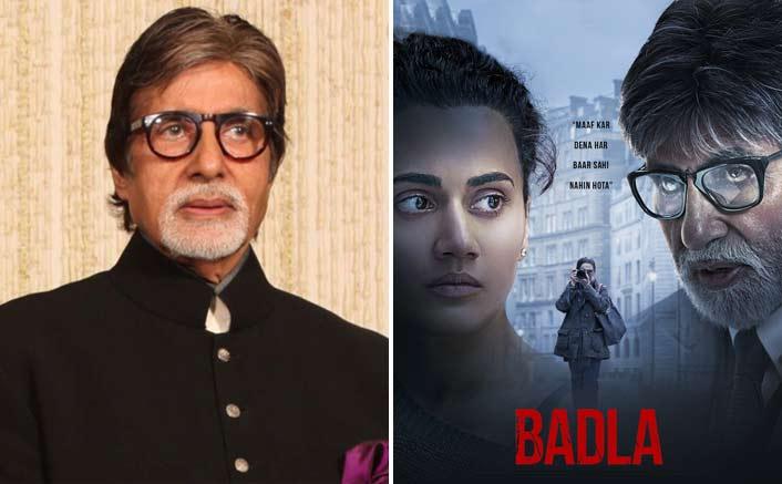Amitabh Bachchan upset 'Badla' has been neglected