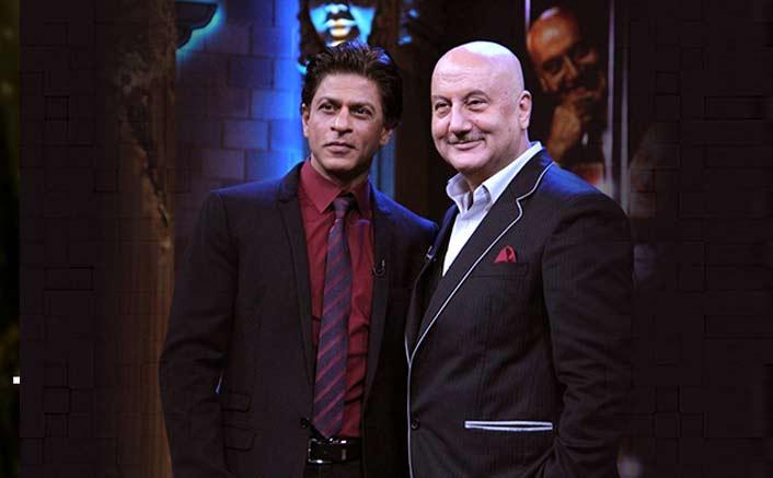 Anupam, SRK bond on Twitter over DDLJ