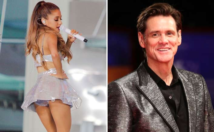Ariana opens up about her fascination for Jim Carrey