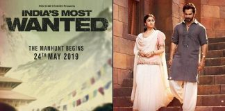 Arjun Kapoor's India Most Wanted teaser to be attached to Abhishek Varman's Kalank!