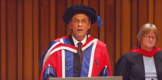 """Best Of Shah Rukh Khan During Felicitation In London: """"In My Profession If I Fail, I Would Be Knocked Off The Hair Dye Commercial Within A Day"""""""