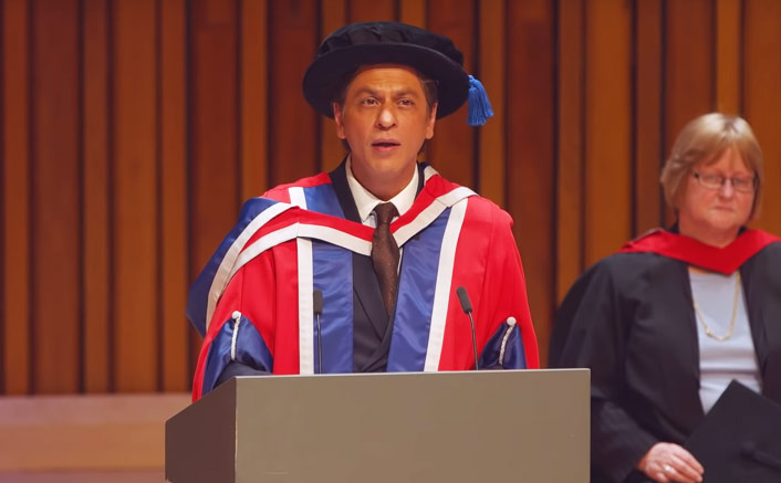 "Best Of Shah Rukh Khan During Felicitation In London: ""In My Profession If I Fail, I Would Be Knocked Off The Hair Dye Commercial Within A Day"""