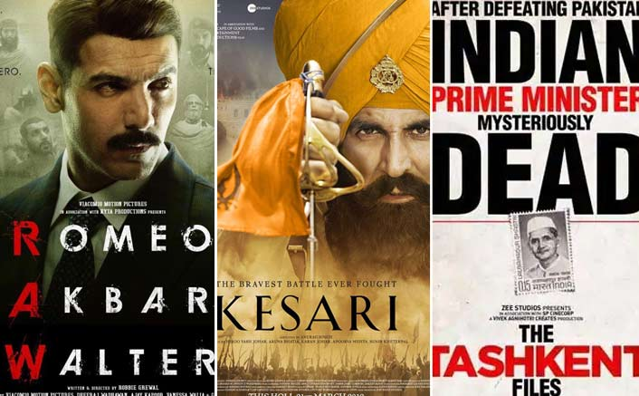 Box Office - Romeo Akbar Walter, Kesari and The Tashkent Files - All films show good growth on Saturday