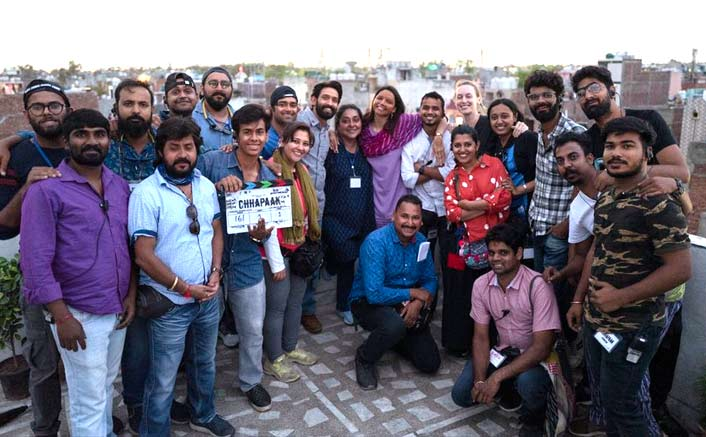 Chhapaak: It's A Wrap Up For Deepika Padukone And Team In Delhi