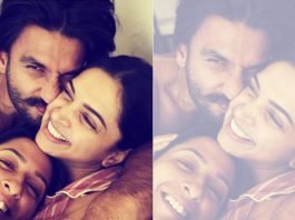 """Cuddles & Snuggles! Deepika Padukone Is """"Smashed In The Middle"""" In Her Latest Instagram Pic"""