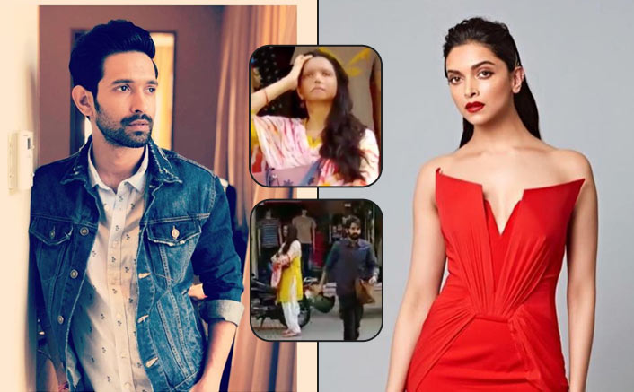 Deepika Padukone Along With Vikrant Massey Shoots For Chhapaak. Video Goes Viral