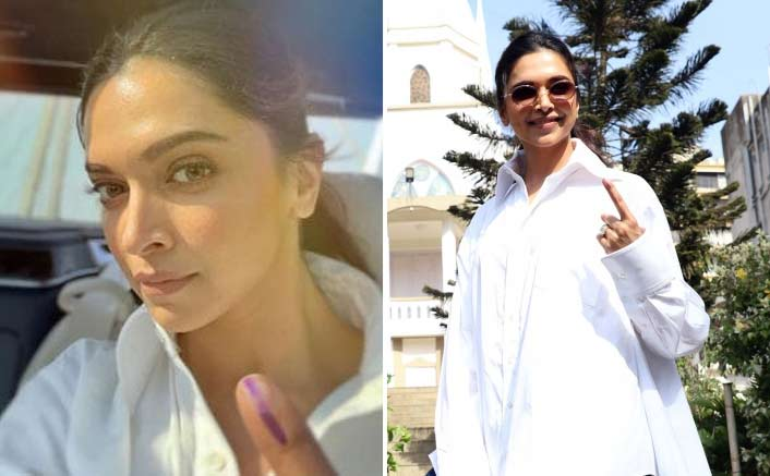 Deepika Padukone casts vote, clears 'confusion'