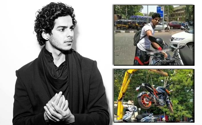 Ishaan Khatter Fined For Breaking The Traffic Law