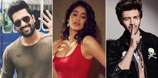 Janhvi Kapoor Tells Whom She Wants To Kiss Among Vicky Kaushal And Kartik Aaryan