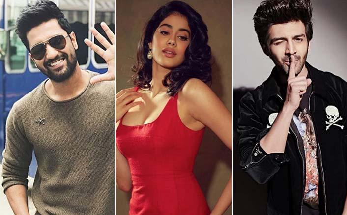 Janhvi Kapoor Tells Whom She Wants To Kiss Among Vicky Kaushal And Kartik Aaryan