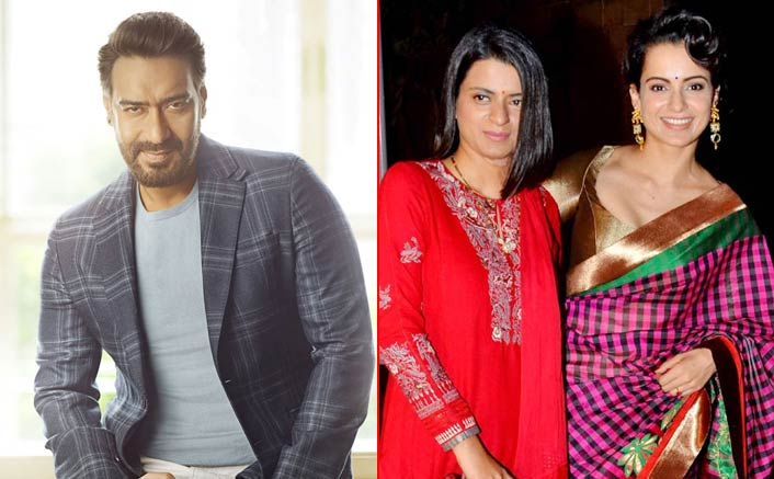 Kangana Ranaut's Sister Rangoli Chandel Slams Ajay Devgn, Alleges Him For Mocking The Victims
