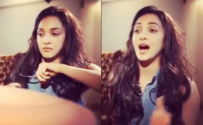 Kiara Advani gives rap a try