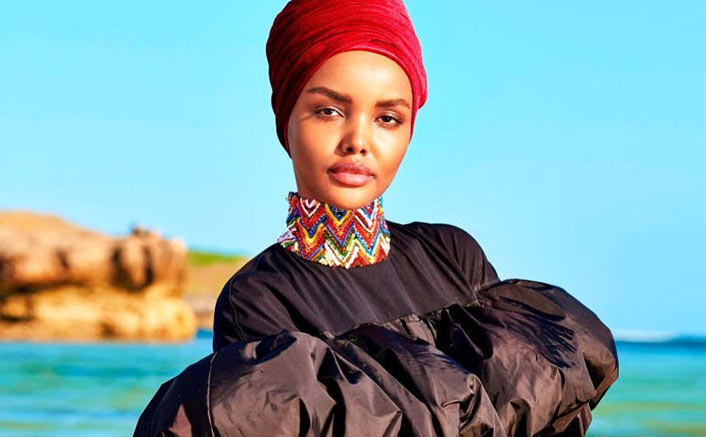 Muslim supermodel makes swimsuit issue history