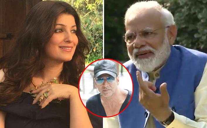 Narendra Modi Cracks A Joke On Twinkle Khanna In His Interview With Akshay Kumar, Here's How She Reacted