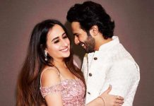 Natasha Dalal sends out love to Varun Dhawan