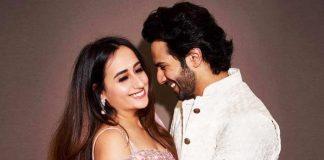 Natasha Dalal sends out love to Varun Dhawan