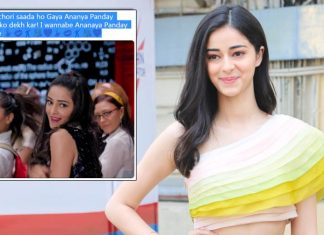 Netizens are going gaga over Ananya Panday's groovy dance number from her debut movie and we cannot keep calm!
