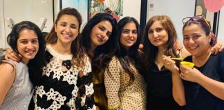 Priyanka, Parineeti's party at Isha Ambani's home