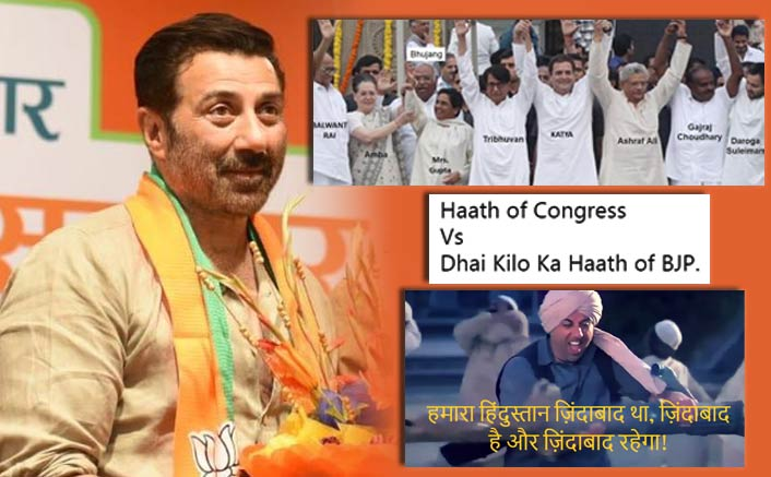 Lok Sabha 2019: Twitter Erupts With Hilarious Memes Over Sunny Deol Joining BJP